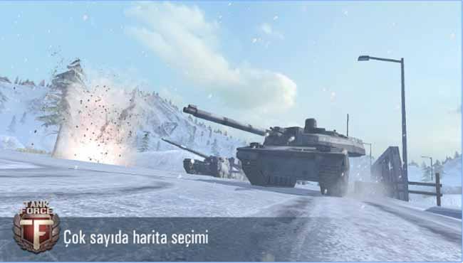 Tank Force - Çevrimiçi 3D Tanklar Android aksiyon ve savaş oyunu indir