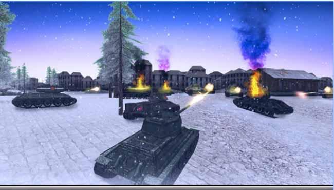 Tank Savaşı 3D - İkinci Dünya Savaşı oyunu indir