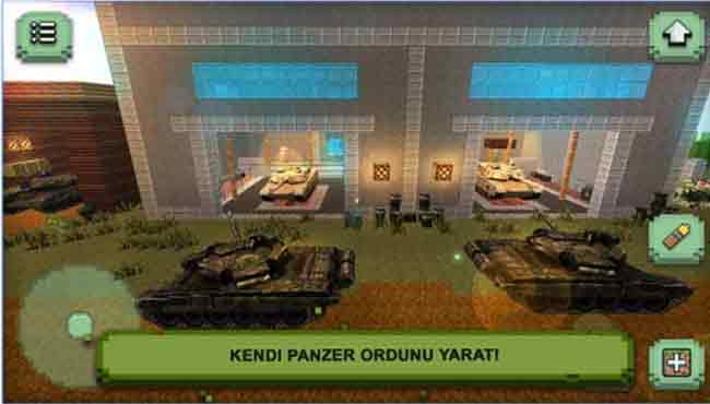 Tank Zanaat Blitz: Android Aksiyon Oyunu İndir apk