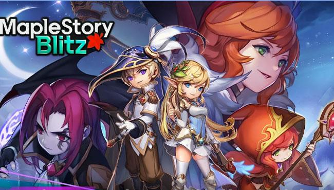 MapleStory Blitz Android Oyun