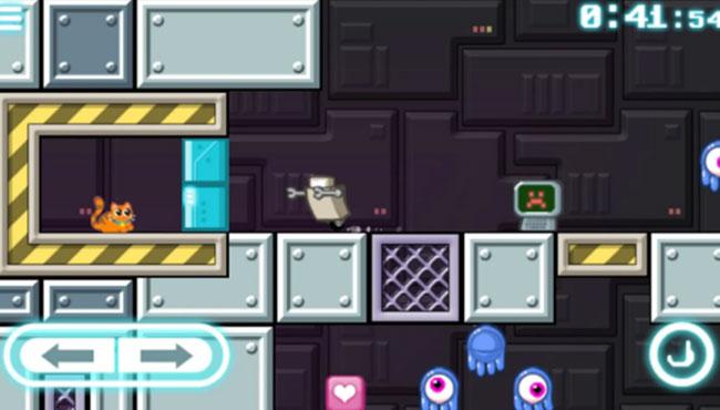 Mobil İçin Macera Oyunu: Robot Wants Kitty