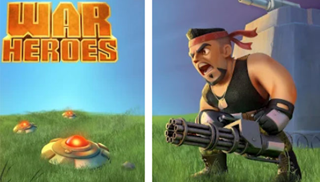 War Heroes Ücretsiz Multiplayer Savaşı