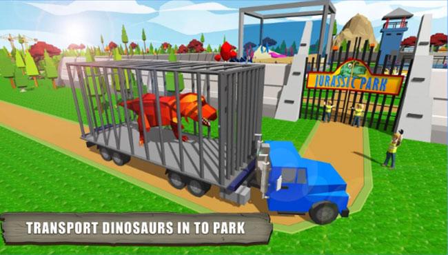 jurassic Dinozor Park Zanaat Simülasyon Oyunu