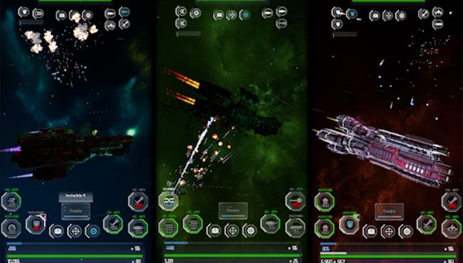 Gargantua: Alpha Spaceship Duel Android Strateji Oyunu indir apk