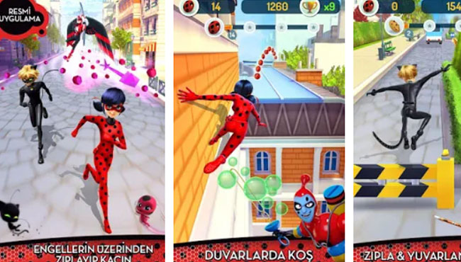 Miraculous Ladybug & Cat Noir Aksiyon Oyunu apk indir
