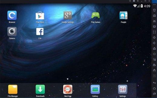 Android Emulator PC için Nox Player emulator