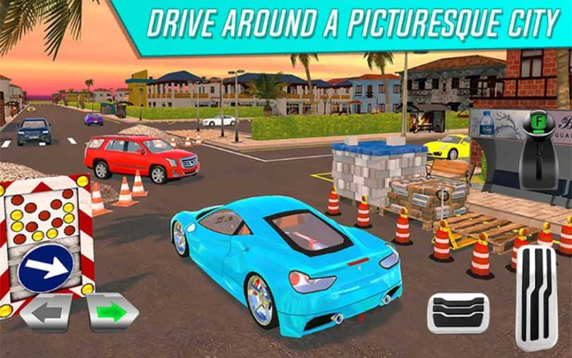 My Holiday Car Android Araba Oyunu indir