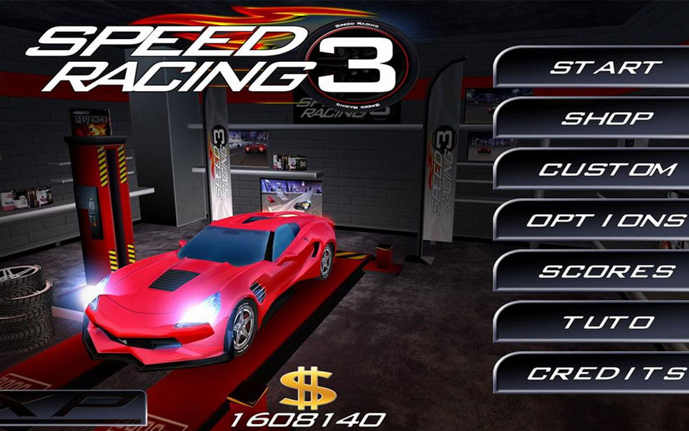 Android Araba Yarışı Oyunu: Speed Racing Ultimate 3: