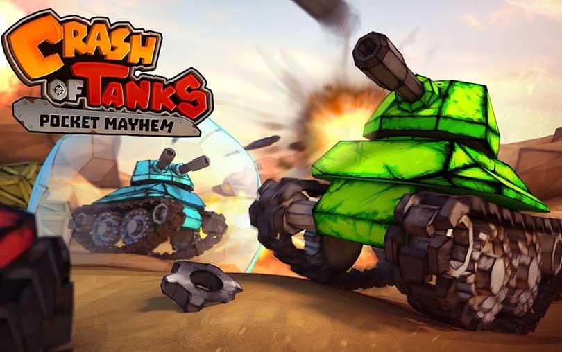 Crash of Tanks Pocket Mayhem Android Oyunu indir