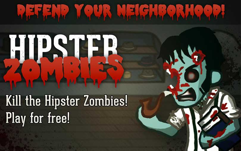 Hipster Zombies Android Zombi Oyunu indir