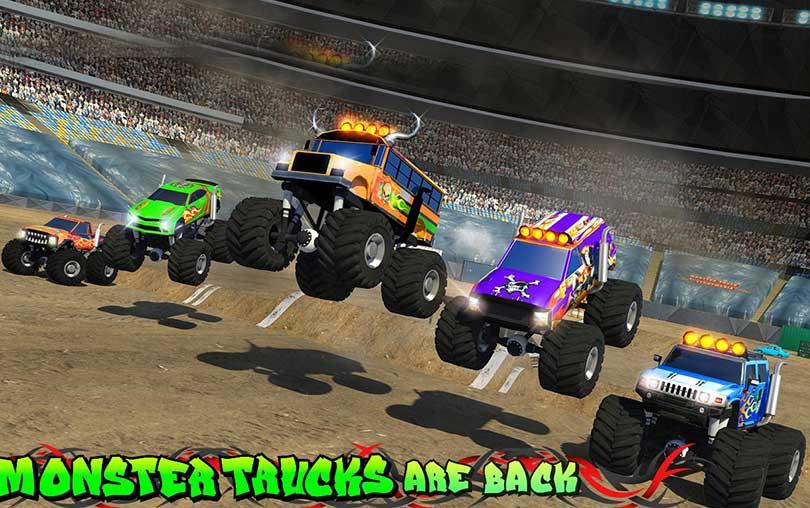 Monster Truck Speed Stunts 3D Beceri Oyunu indir