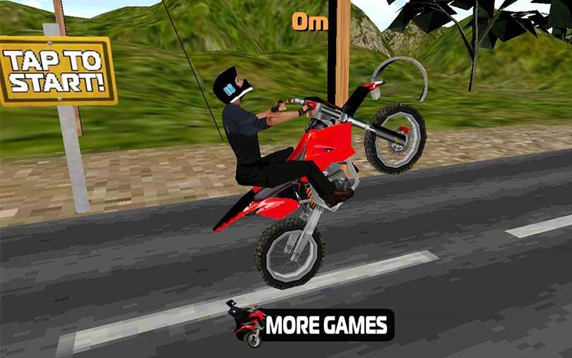 Stunt Bike 3D Android Motosiklet Oyunu indir