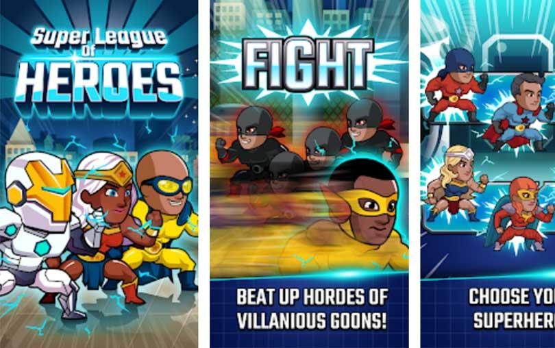Super League of Heroes Android Oyunu indir