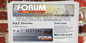 The Forum's website
