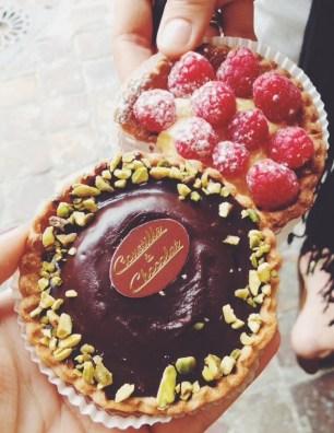desserts in Paris