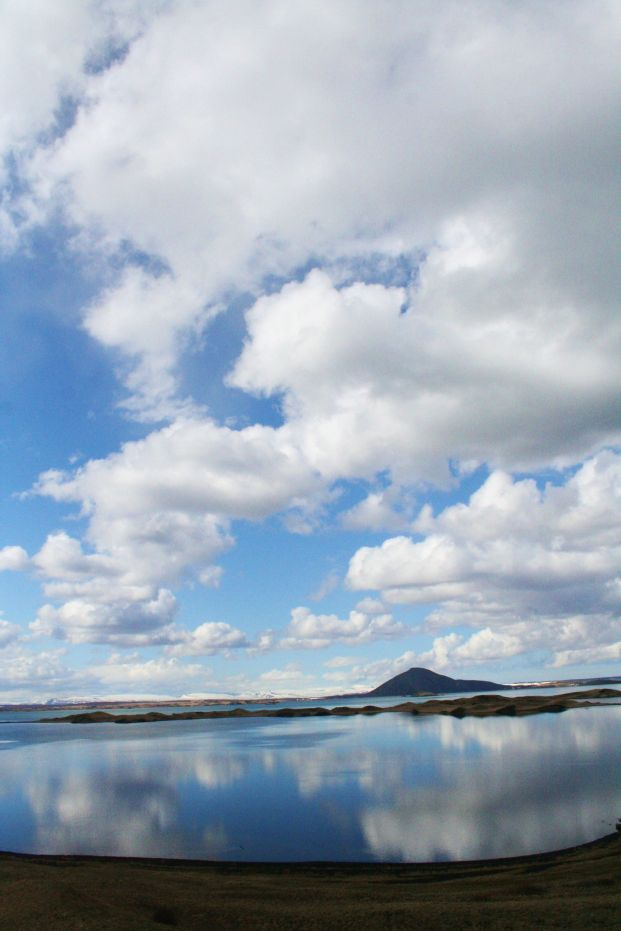 Lake Mývatn in northeastern Iceland