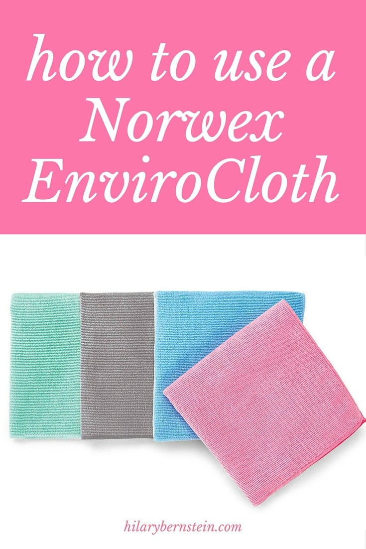 If you're new to Norwex, it can be confusing to figure out exactly how to use a Norwex EnviroCloth. Here's how I use a Norwex EnviroCloth!