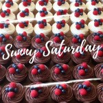 sunny saturday cupcakes