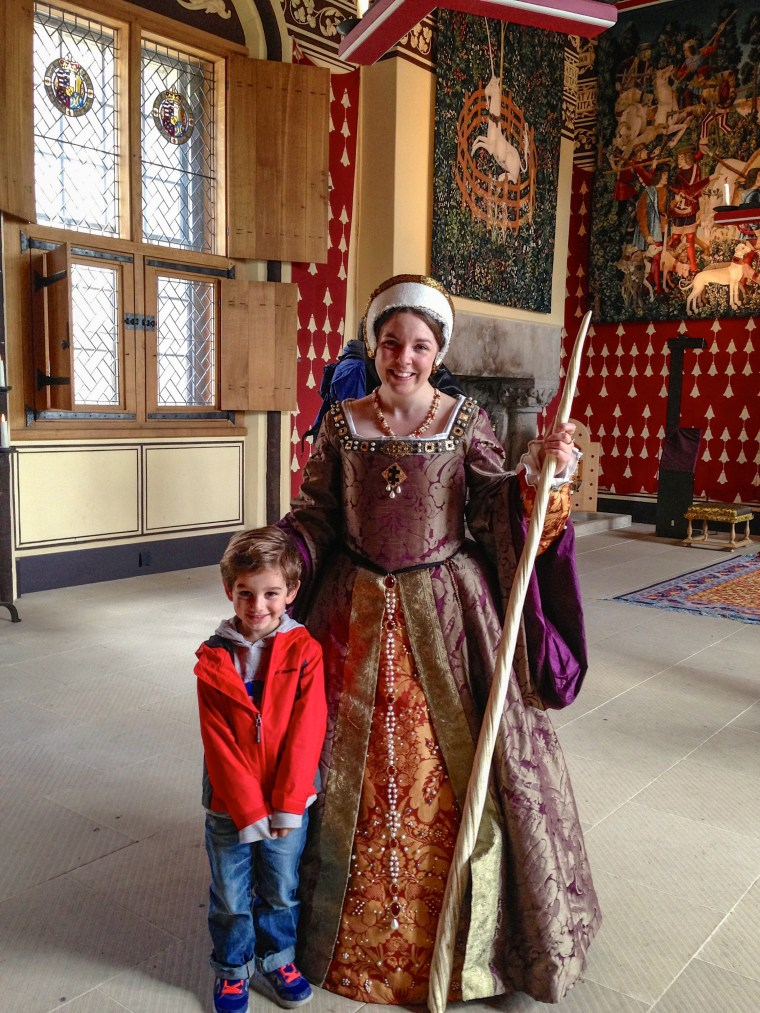 #mariedeguisestirlingcastle