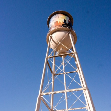 The famous water tower