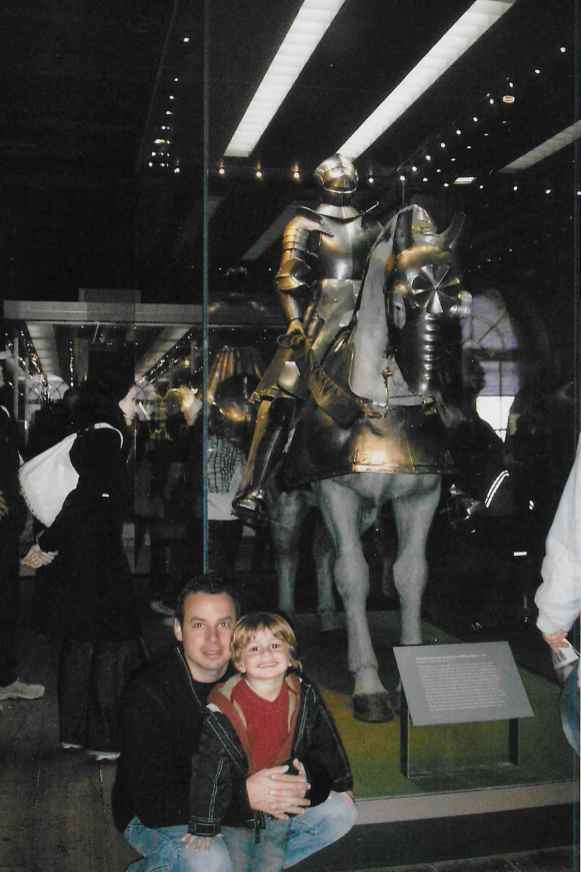 The Armory Exhibit from our 2006 visit