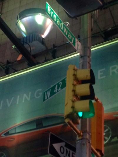 Broadway & W 42nd St.