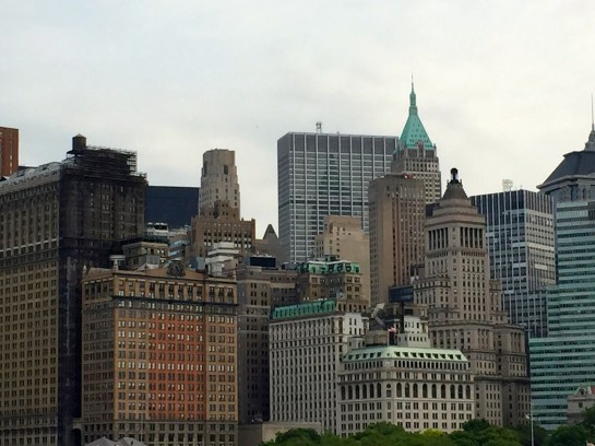 NYC Skyline from the Statue Cruise