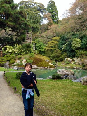 All the elements of a traditional Japanese Garden