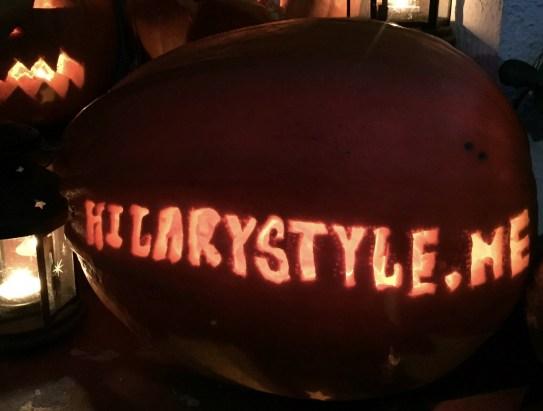Hilarystyle.me Pumpkin #hilarystyleme
