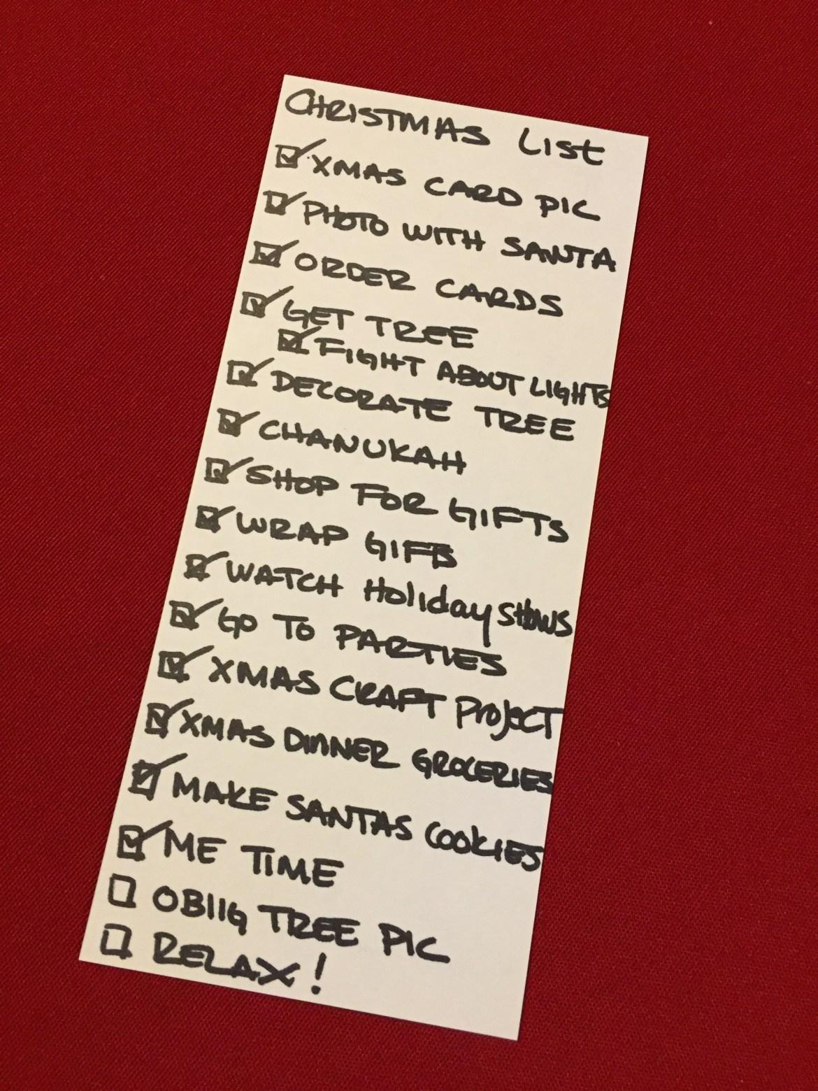 #checklist