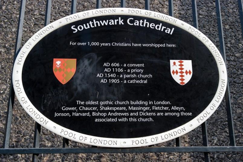 #southwarkcathedral