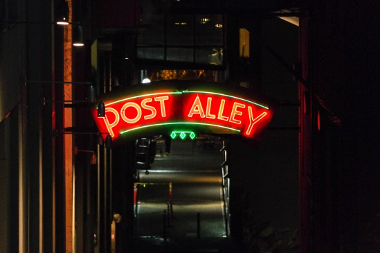 Post Alley at Night
