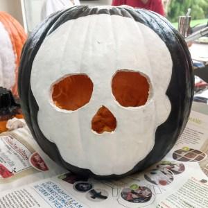 #skullpumpkin