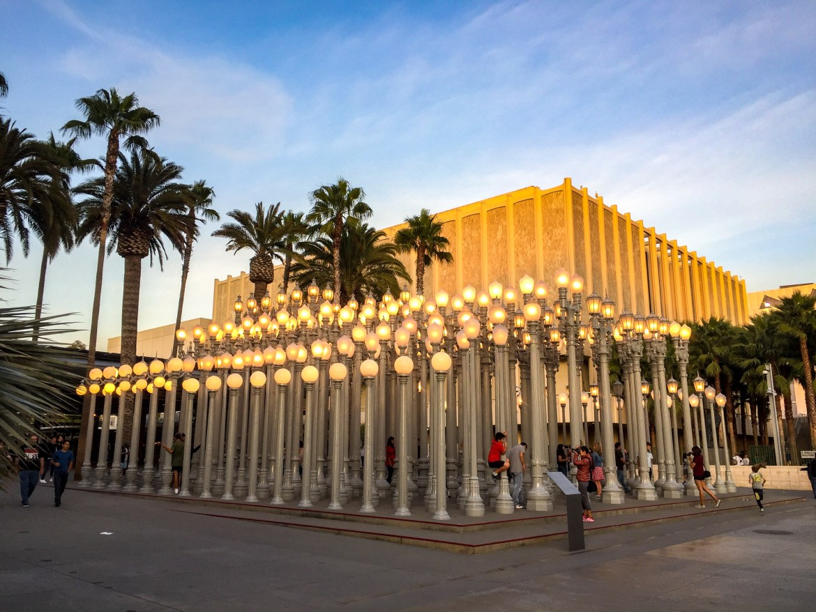 Urban LIghts at LACMA Los Angeles California