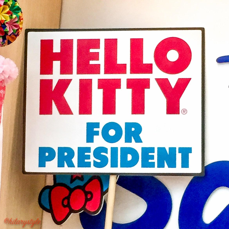 #hellokittyforpresident
