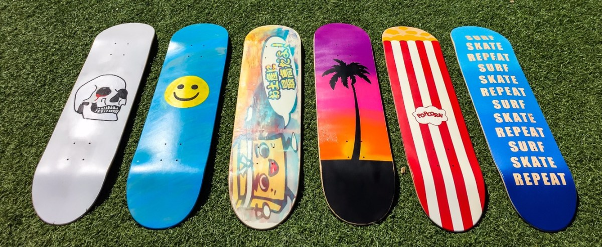 DIY: Skateboard Decks