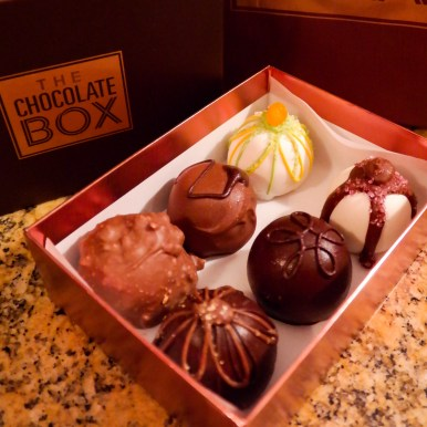 Things to do in Las Vegas with Kids Chocolate Box