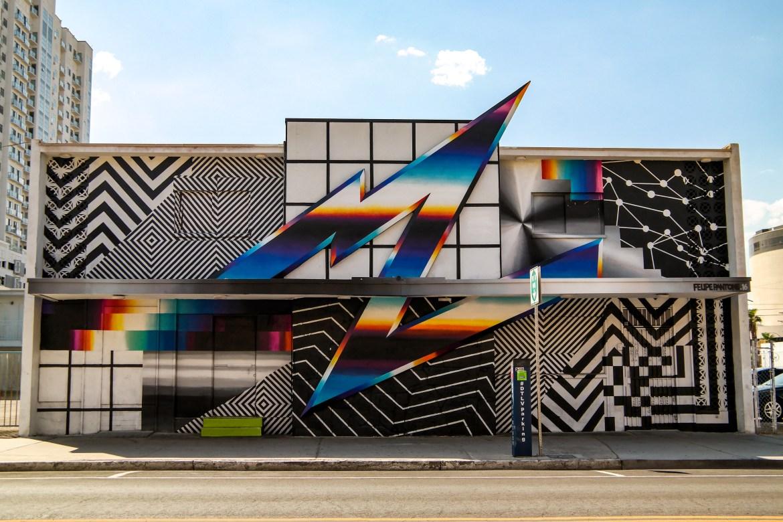 Las Vegas Nevada Felipe Pantone Street Art
