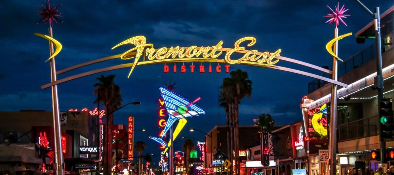 Las Vegas Nevada Fremont East District