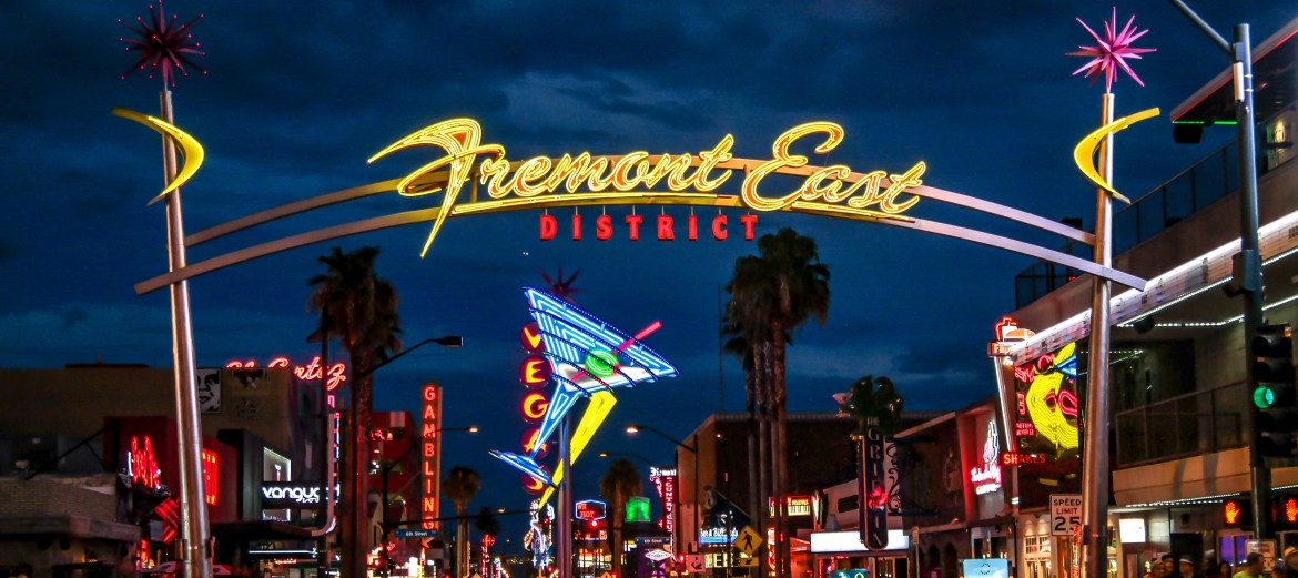 Las Vegas Nevada Fremont East District