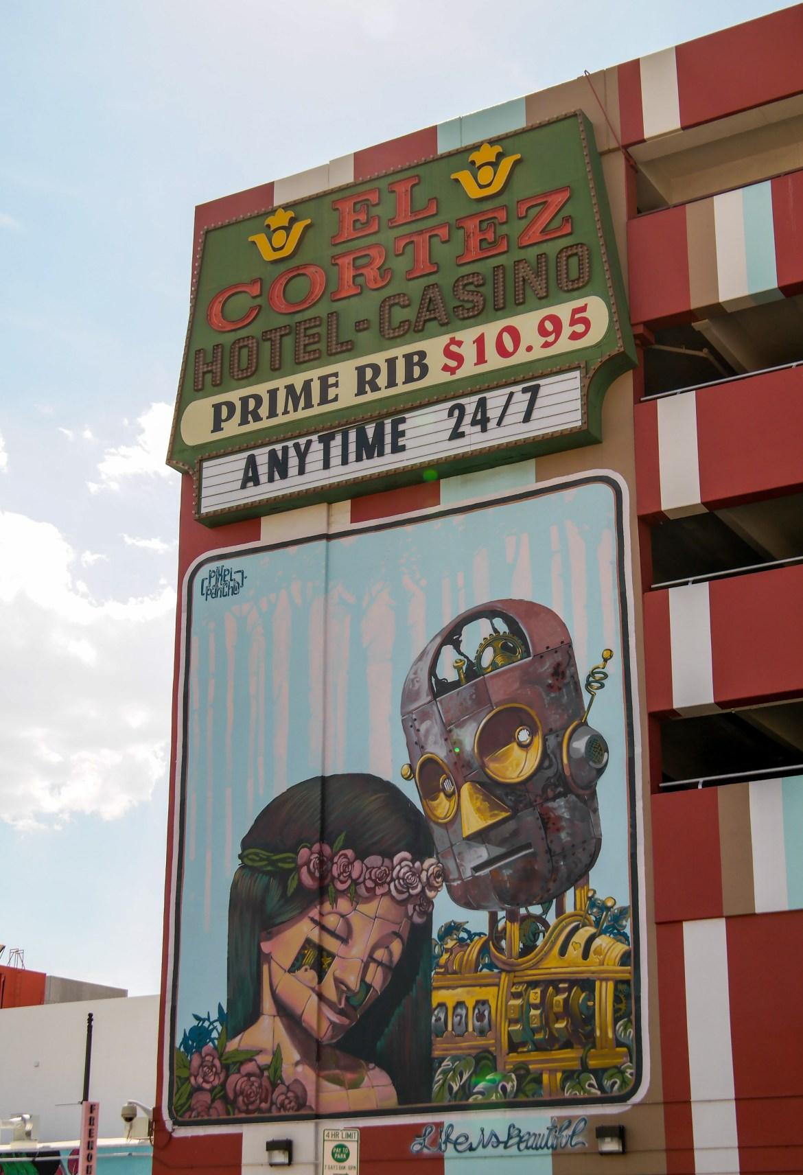 Las Vegas Nevada Pixel Pancho Street Art