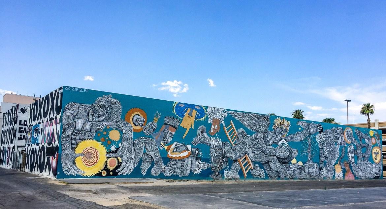 Las Vegas Nevada Zio Ziegler Street Art