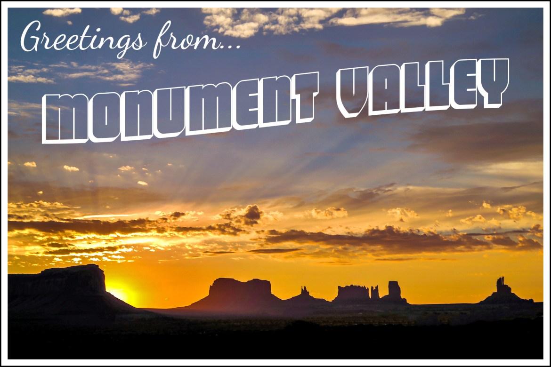 Monument Valley Sunrise Utah