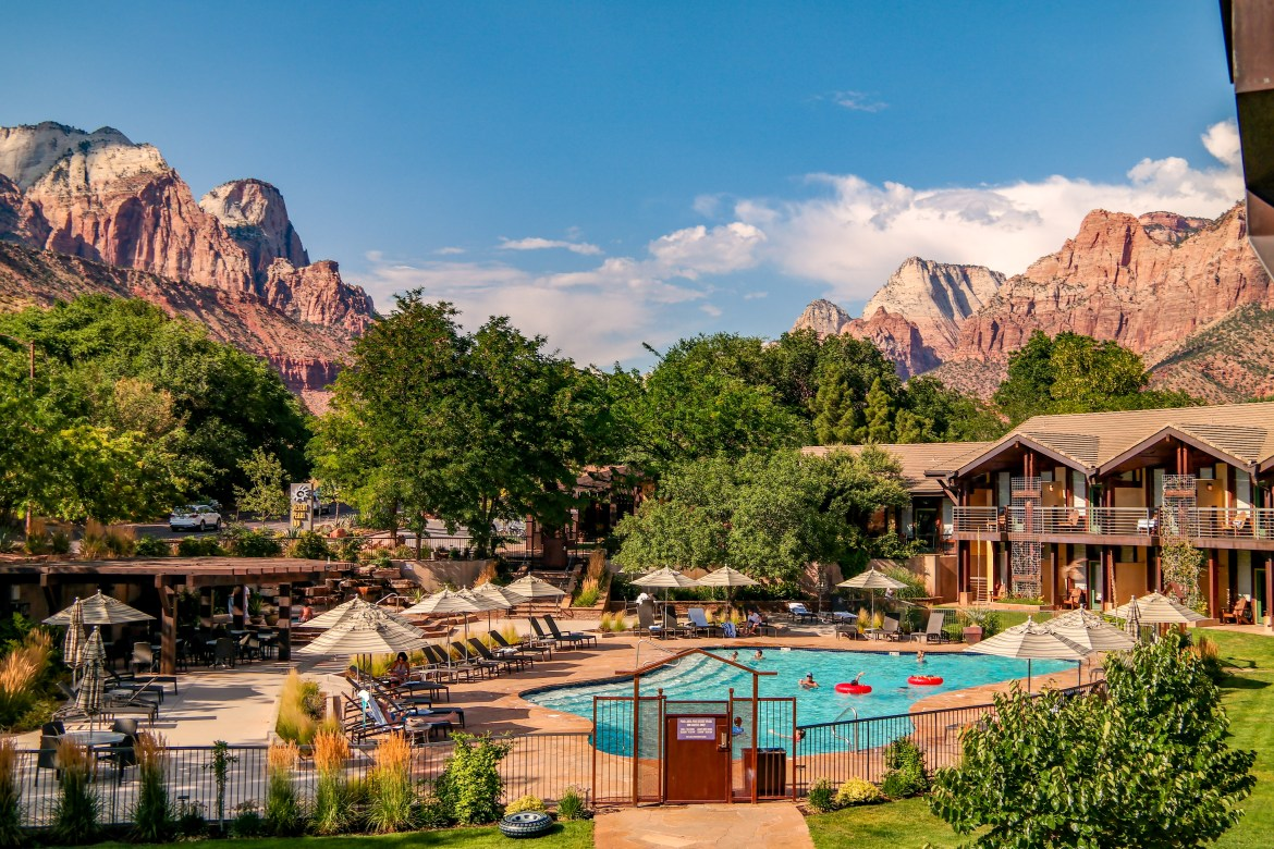 Desert Pearl Inn Zion National Park with Kids #Zion