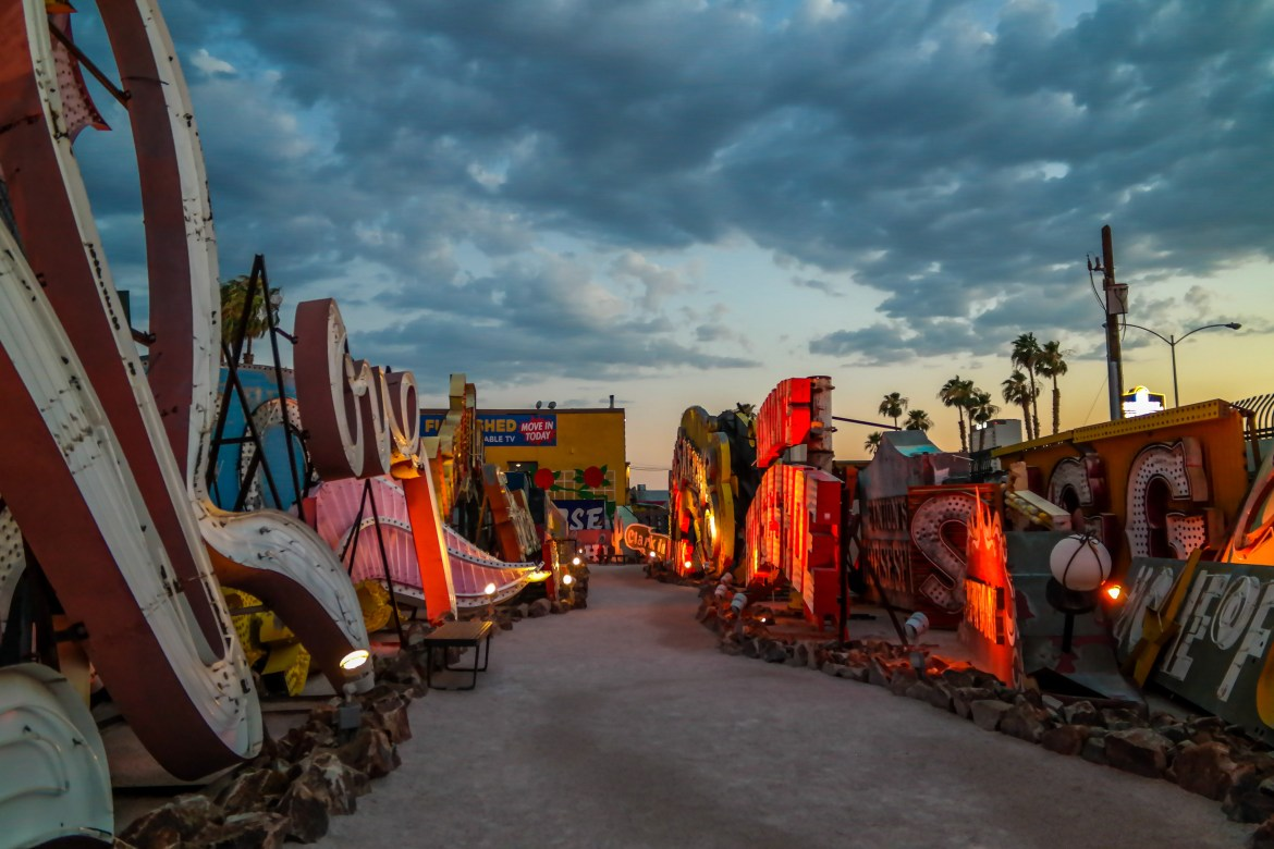 Things to do with Kids in Las Vegas Neon Museum