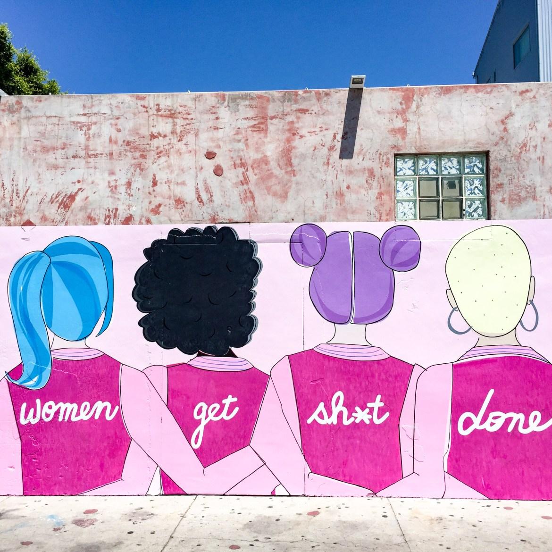 Street Art Windward Avenue Los Angeles California