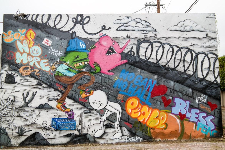 Political Street Art Los Angeles California