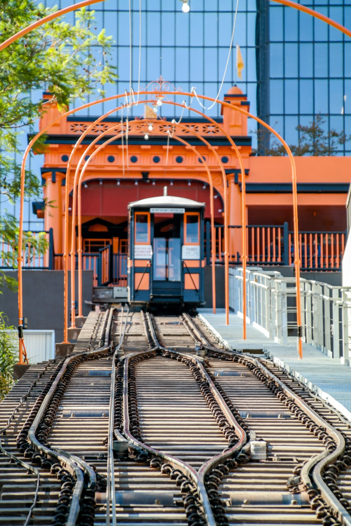 Angels Flight Railway Los Angeles California #angelsflight