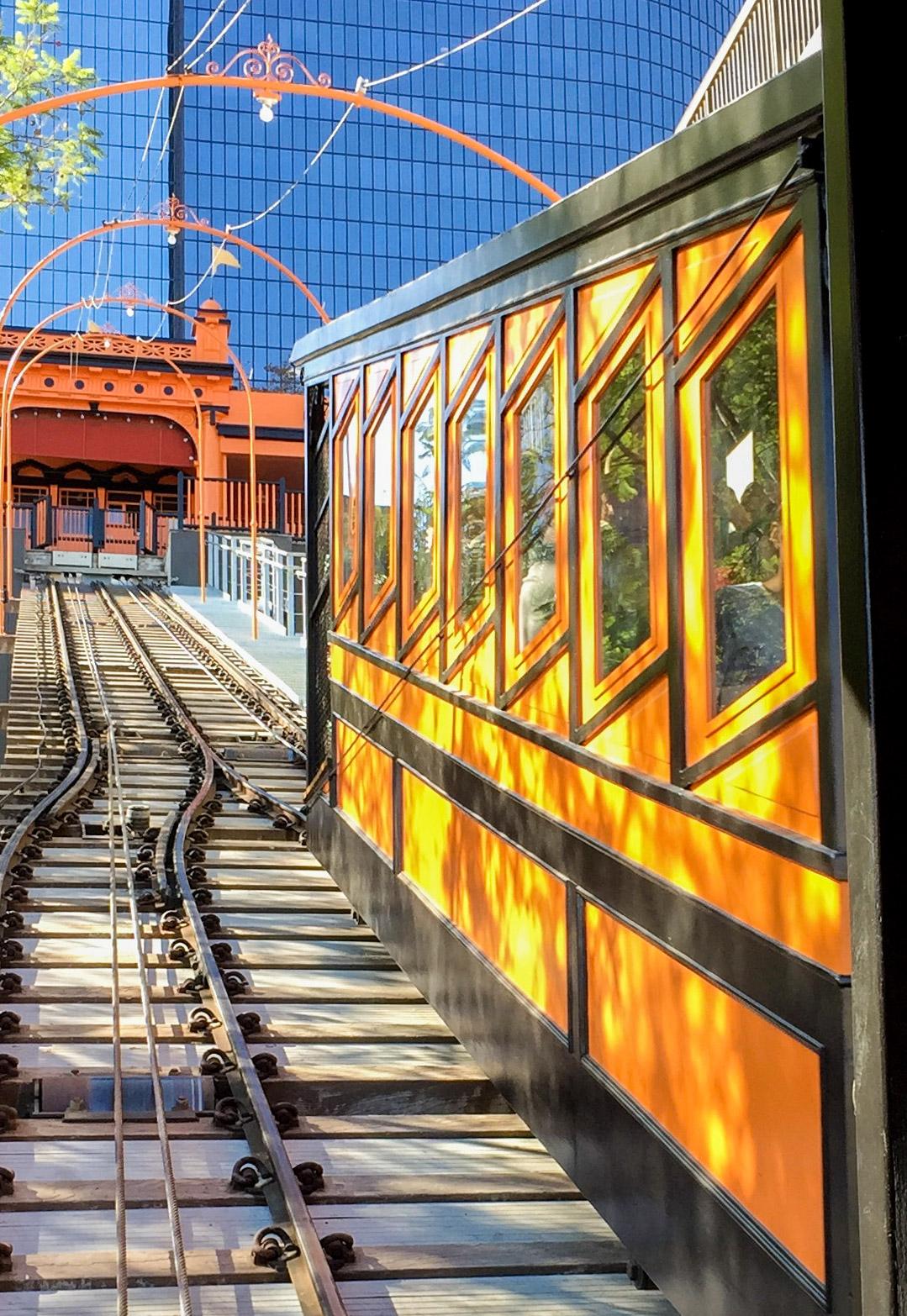 Angels Flight Railway Los Angeles California #angelsflight
