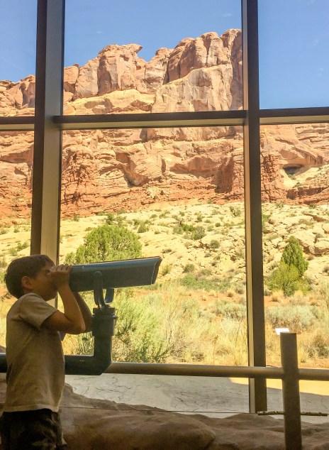 Arches National Park Utah #visitorcenter
